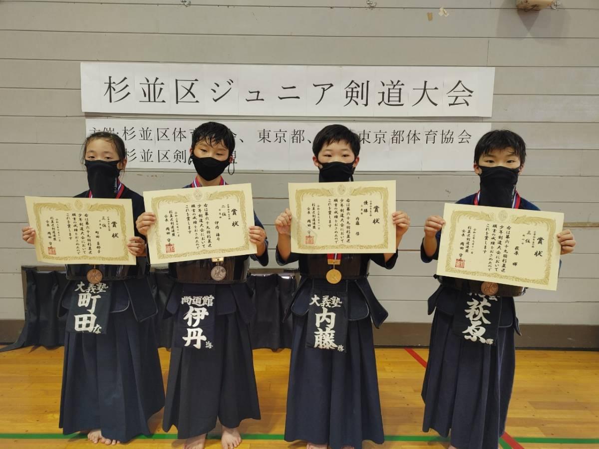小学4年生の部入賞者